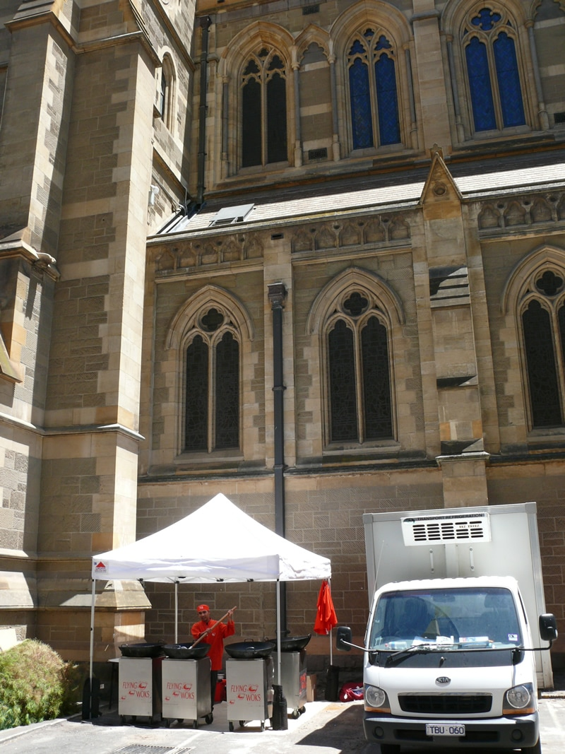 Church Catering Melbourne