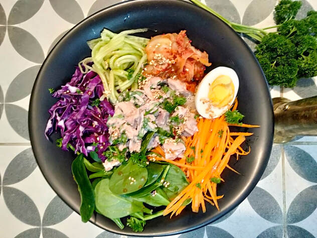 Korean Tuna Buddha Bowl